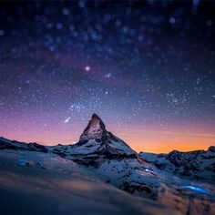 SerialThriller™ #mountain #sunset #photography #stars