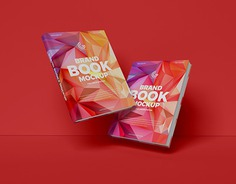 Free Brand Books Mockup PSD
