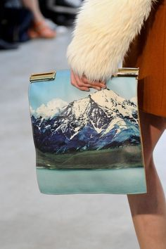 Models Brawls #clutch #photo #mountains #leather