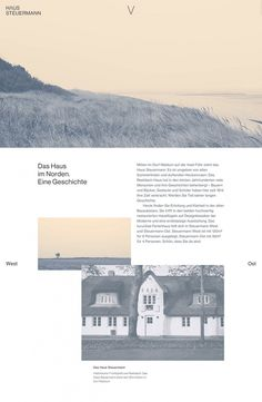 Steuermann fjord house cottage minimal webdesign responsive website webdesign minimal mindsparklemag