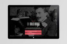 Bold Books Web — by Fon Kumuro #branding #bold #books #web #kumuro #fon