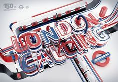Typography 11. by Peter Tarka, via Behance #layers #london
