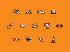 Fitness Iconz #icon #picto #pictogram #symbol #sign