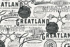 Greatland - Allan Peters #typography