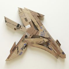 Alecks Cruz | PICDIT #sculpture #cardboard #graffiti #design #art