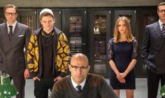 Mark Strong and Others in Kingsman Movie Wallpaper – WallpapersBae