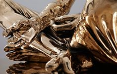 Kevin Francis Gray :: Temporal Sitter Bronze #bronze #sculpture #neat #gold