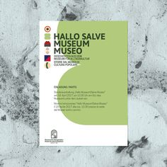 Hello Museum! on Behance