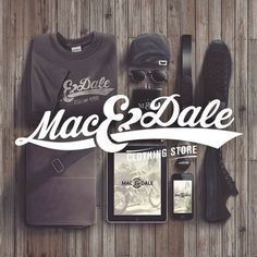 Mac & Dale is an original Venezuela´s Brand, Made with energy and style, catch the spirit of a trendy way of living. *More coming soon, st #clothing #t #tipography #logot #shirt #store #brand