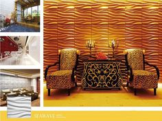 #surfaces #contemporary #furnishing #textured #interiors #geometric #3d #wall #wallart #green #decor #textured #coverings #panels #tiles #ho