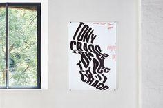 ccrz - Museo d'Arte Lugano - Tony Cragg poster