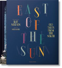 book cover typography east of the sun west