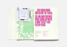 (1) Tumblr #pink #print #design #typography #illustrative #bold #green
