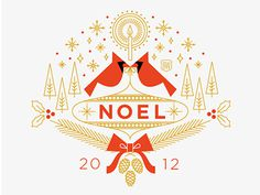 #flat #illustration #noel #holiday