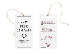 Ozark Beer Company #typography
