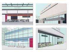 Stefi Orazi | September Industry #graphics #illustration