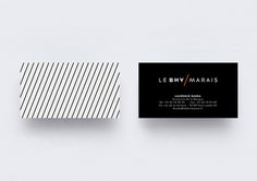 Le BHV / Marais #logo #identity #branding