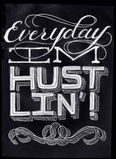 http://ok-backtowork.tumblr.com/ #type #pen #sketch #typography