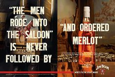 Jim Beam Whiskey Ad #ad