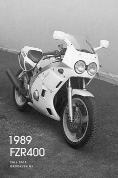 1989 FZR #pomade #fzr #design #typography #motorcycle #bike #photography