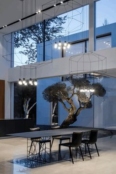 Simple Geometry Shines in Modern Minimalist Home 21