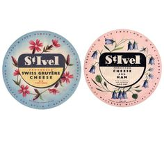 A Collection of Vintage Cheese Labels: Slideshow: Observatory: Design Observer #cheese #packaging #food #label #brand #vintage