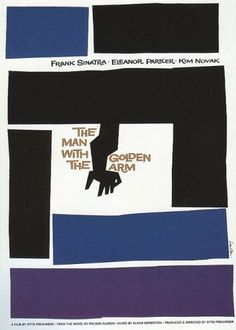 Saul Bass: Work from the 1950s to the 1980s #bass #movie #classic #saul #poster