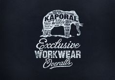 Kaporal by bmd design #quality #design #handletter #typography