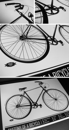 Bryan Patrick Todd - Design & Illustration - Blog #illustration #vector #blackwhite #bicycle
