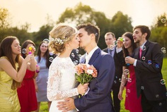 Looking for some inspiration and tips on wedding wishes? If you've already bought a perfect present for the happy couple, you might be wondering what to write in a wedding card.
