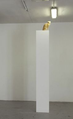 """Solarkatze"" Michael Sailstorfer for Galleria ZERO 
