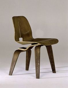 pillebo | lounge chair prototype by ray & charles eames... #chair #ray #wood #furniture #prototype #lounge #charles #eames