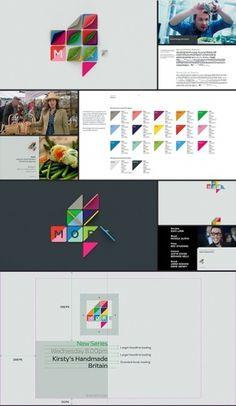 More4 Rebrand   Projects   ManvsMachine #ident #identity #branding