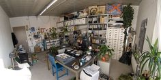 Studio NSybrandy door Nienke Sybrandy #workspace