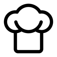 See more icon inspiration related to chef, kitchen, food, cooker, hat, cooking, fashion, chef hat and kitchen pack on Flaticon.