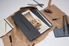 Gareth Edwards Portfolio #binding #screws #portfolio #book #black #on #passport #editorial #foil #typography