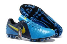 Nike Sale C Luo War Boots 9 Blue Yellow