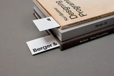 Berger #type #layout #minimal #book