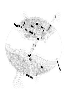futureproofdesigns: Thesis Work Process Drawings Henry Stephens 2014 #urban #drawing