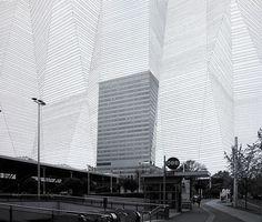 Franz Riedl - Architekturerweiterungen (2012) Terminal Tower (Linz) #urban #graphic