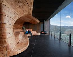 TVERRFJELLHYTTA - Norwegian Wild Reindeer Centre Pavilion, Hjerkinn, Norway, 2011.By Shøhetta Oslo AS. #norway