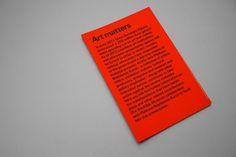 Art Matters : The Exercises #exhibition #folder