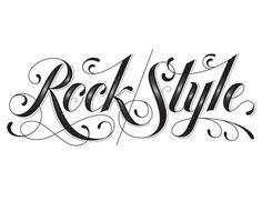 rockstyle1.png 715×550 pixels #type #lettering