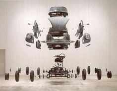 Damian Ortega « Is it nice..? #2002 #volkswagen #damian #mechanic #thing #by #beetle #manual #ortega #car #cosmic