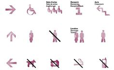 Estudio Diego Feijóo #diego #feijoo #spain #museum #symbols #wine #vinseum #stain #barcelona #pictograms #signage