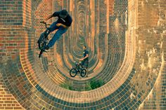 Bicycle Photography by professional photographer Mike DeereMike Deere – Award Winning Commercial & Wedding Photographer #photo #bricks #biking #bicycle