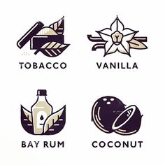 Makers Co. Flavours icon design #illustration #icon #iconography #line