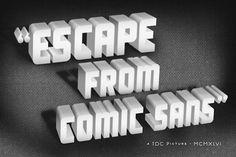 tdc_cards_01.jpg 510×340 Pixel #movie #sans #comic #type #typography