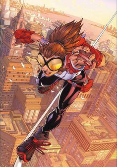 Arana comics #comic #superheroes #marvel #artist #comics