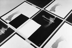 ÜBERSCHATTEN — DIPLOMARBEIT - Sebastian Schichel #white #fugue #black #and #editorial #magazine #typography